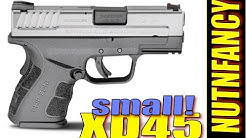 Go Everywhere .45 ACP: XD45 Subcompact