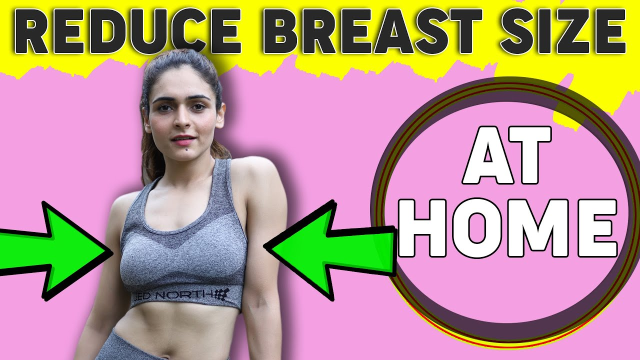 7 BEST EXERCISES TO REDUCE BREAST SIZE || Lose Breast Fat in 1 week at Home