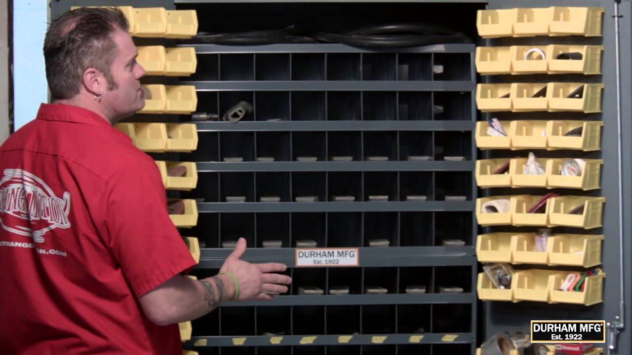 Durham MFG Storage Bins Cabinets Mobile Carts Bolt Bins Tim ...