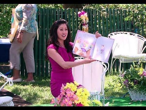 2011 White House Easter Egg Roll: Kristi Yamaguchi Reads