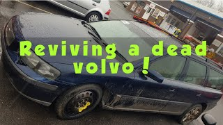 Saving my filthy accident damaged volvo v70! Copart rescue.