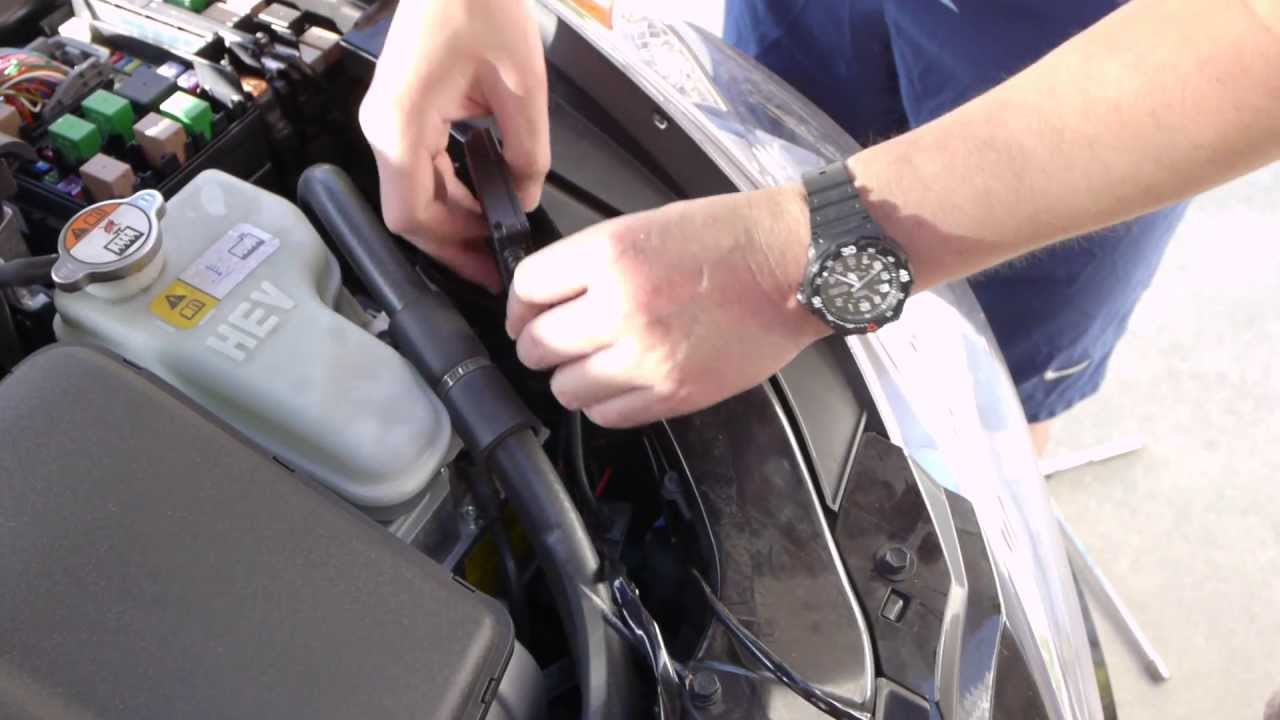 hight resolution of  diy hyundai sonata hybrid hid install