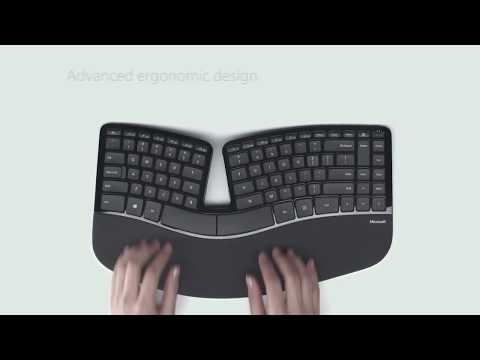 Microsoft Sculpt Ergonomic Desktop