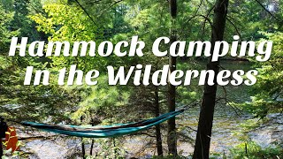 Hammock Camping in the Wilderness