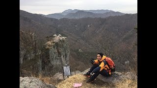My First Hiking in South Korea (Mudeungsan)