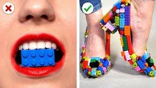 UPCYCLE AND REUSE Old TOYS 🚀 Façons amusantes de réutiliser des LEGO, des JOUETS et plus encore