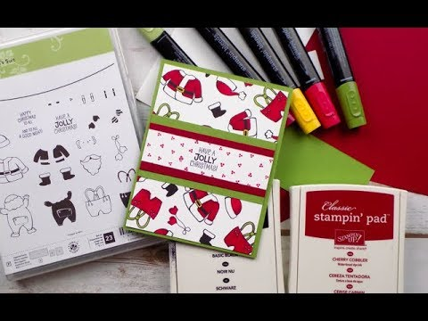 Santa's Suit Holiday Card | Stampin Up