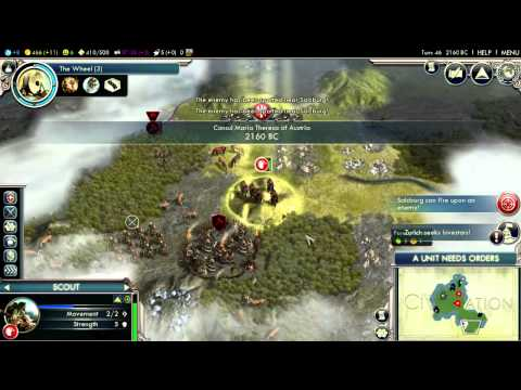 The True (and Accurate) History Of Austria, Part 1 (Civilization V: Gods and Kings)