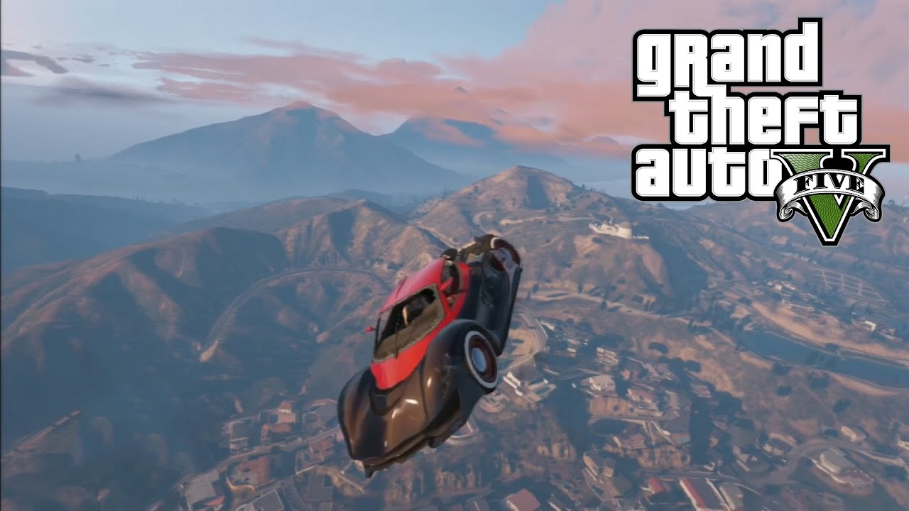how to get flying car gta 5 online