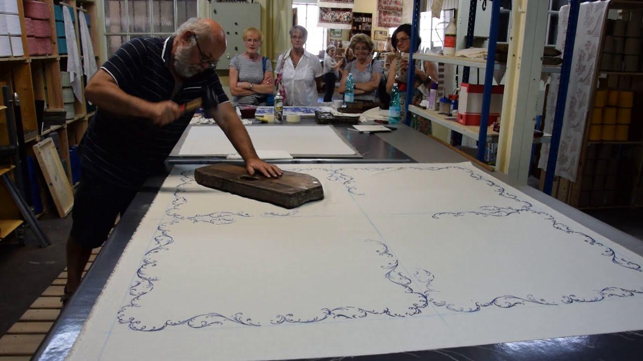 Impression Photo Planche Bois atelier impression textile toile de jouy