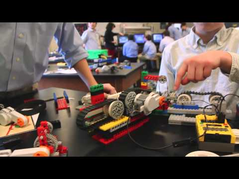 Using Lego Robotics at US, A Private Middle School In Cleveland, Ohio
