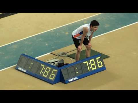İstanbul U18 Türkiye Salon Şampiyonası 60 metre engelli Erkekler Final