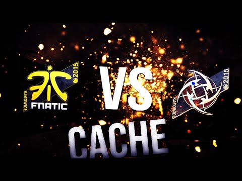 NIP vs Fnatic | VoIP/ts3 + Twitch chat | Cache | KATOWICE 2015