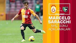 🎙 Marcelo Saracchi'den maç sonu açıklamaları. #GSvDNZ