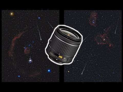 Astrophotography With A Kit Lens