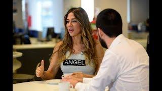 Entrevista exclusiva a Jimena Barón en la redacción de Clarín