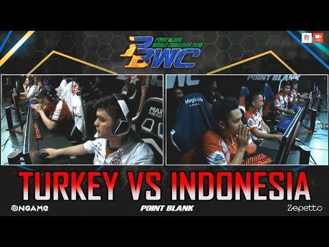 GILAA !! MATCH YANG SANGAT MENEGANGKAN ANTARA INDONESIA VS TURKEY - PBWC 2018