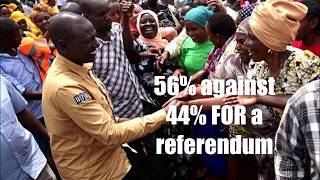 Poll Says Most Kenyans Against Referendum. What??