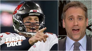 Max Kellerman eats crow for his Tom Brady-Cliff Theory: 'I stand down, he is the GOAT!' | First Take