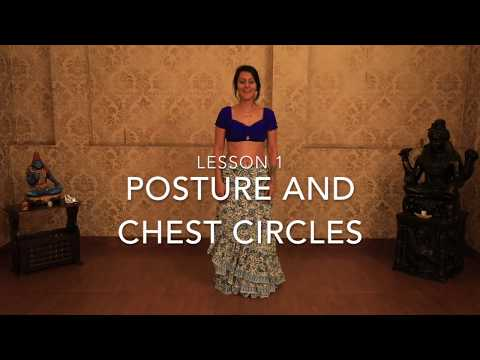 Beginner Belly Dance Tutorial With Meher Malik | Posture And Chest Circles