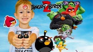 Angry Birds 2 ПРЕМЬЕРА МУЛЬТФИЛЬМА | заклятые друзья| итоги ТИНИ ТАЙ ПУШИСТИКИ🤗 РОМАРИКИ | Vlog