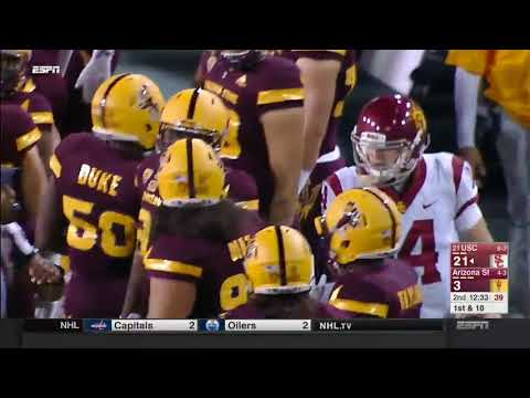 USC Football: USC 48, ASU 17 - Highlights (10/28/17)