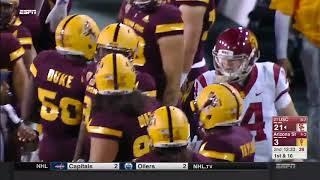 USC Football: USC 48, ASU 17 - Highlights (10/28/17)