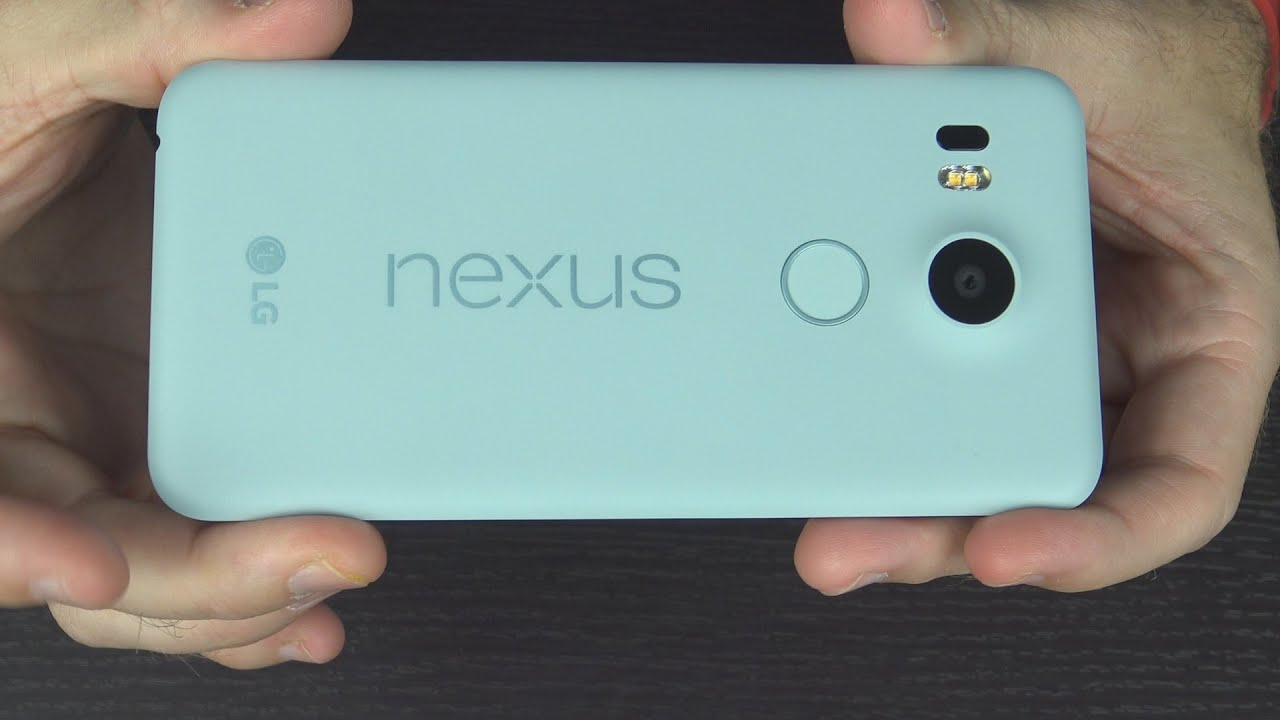 16Gb Ice Nexus 5X Unboxing and First Impressions