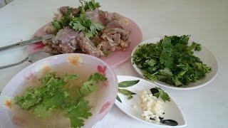 Хаш рецепт супа Армянской кухни из говядины как приготовить блюдо вкусно обед дома быстро(Как приготовить Хаш рецепт супа Армянской кухни из говядины. Ножки говяжьи 1.5-2 кг. Чеснок 3-4 зубка. Лук репча..., 2015-07-12T16:21:39.000Z)
