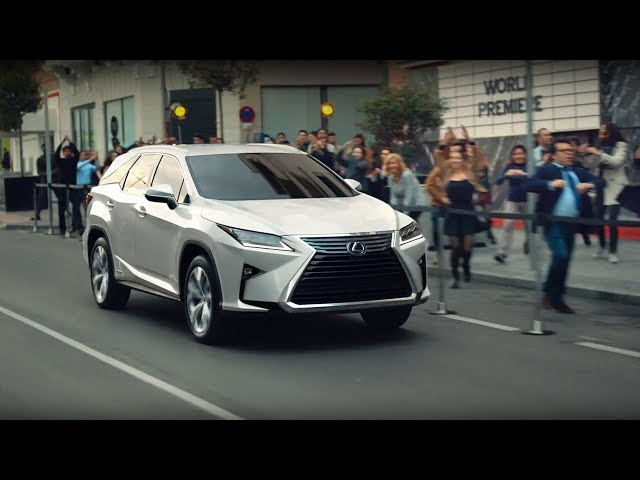 "LEXUS RX TVCM ""Amazing Music Session"" 30sec"