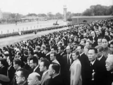 历届国庆阅兵中的中国国歌 Chinese National Anthem Played in the Past National Day Parades
