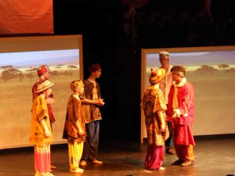 "Lippa's ""A Little Princess"" Act 1 Scene 3b ""Merchants - West African Road"""
