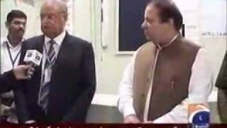 Nawaz Sharif and Hadiqa Kiyani 18th August 2011 Capital Talk - Part 2