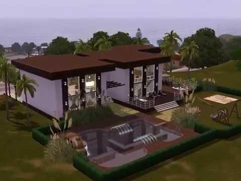 Sims 3 - Haus bauen - Let's build - Großes Haus für kleine Familie