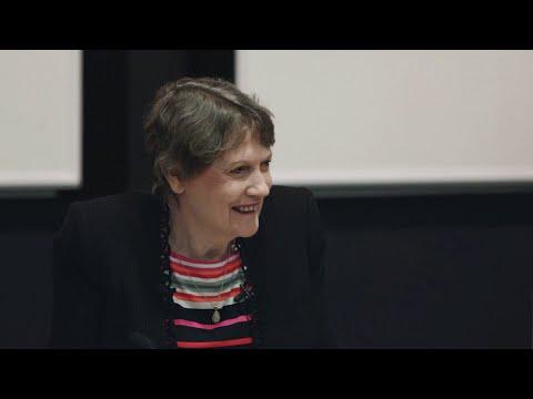 A conversation with Helen Clark