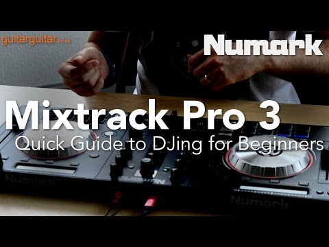 Start DJing in 5 minutes with the Mixtrack Pro 3 - a Quick Guide for Beginners