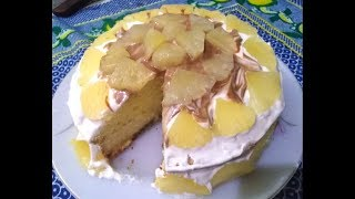 Pineapple Cake Recipe In Pressure Cooker | Pineapple Cake | Jairy