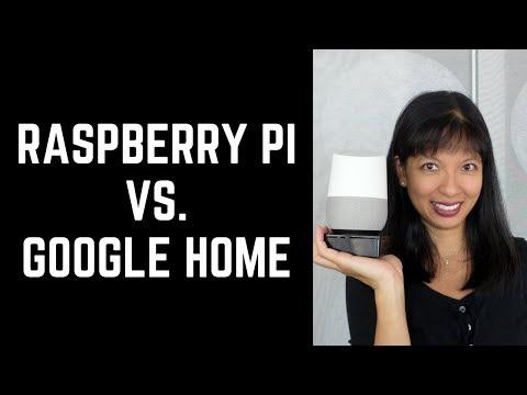 Raspberry Pi Google Assistant vs.  Google Home