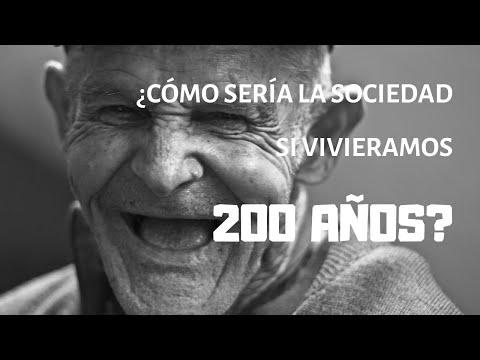 ¿Cómo sería una sociedad en la que los humanos vivieran 200 años?