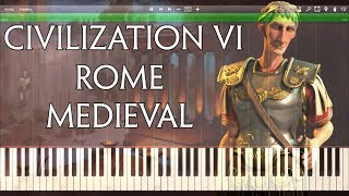Sid Meier's Civilization 6  - Rome Medieval Synthesia Cover - Magna Mater