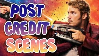 5 Post Credit Scenes Explained  (SPOILERS) - Guardians of the Galaxy Vol. 2