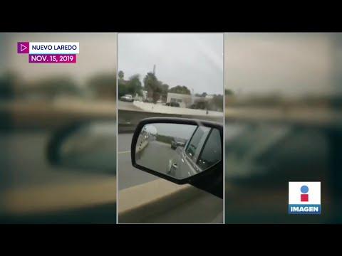 Graban retén del Cártel del Noreste en Tamaulipas | Noticias con Yuriria Sierra