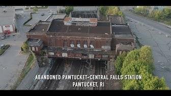 Abandoned Pawtucket/Central Falls Train Station - Pawtucket, Rhode Island