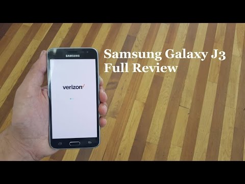 Samsung Galaxy J3 Full Review For Verizon Wireless