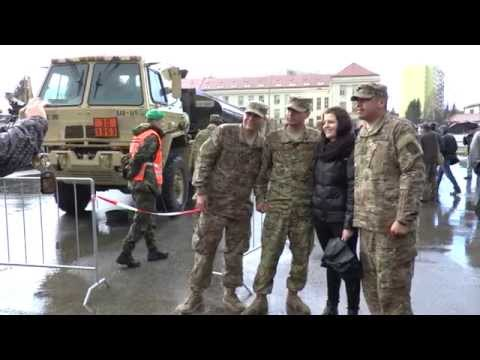 U.S. Army 2nd Cavalry Regiment Dragoon Ride in Prague, March 31st 2015