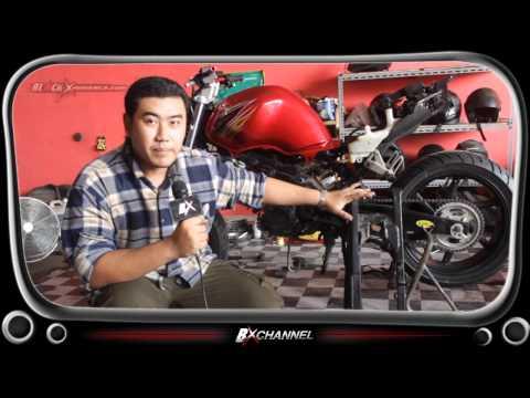Ubah Posisi Tangki Honda CS One