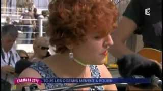 Elisa Jo en direct sur France 3 Haute-Normandie