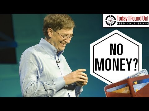 What Does Bill Gates Carry Around in His Wallet?