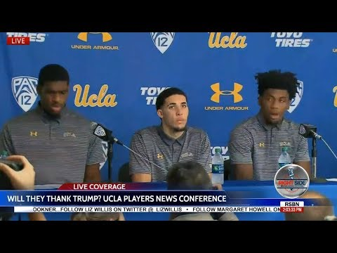 🔴 LIVE: UCLA PLAYERS PRESS CONFERENCE After Being Released from CHINA