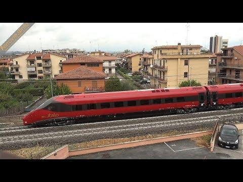 Trasferimento ETR 675 n.02 di NTV con E.438.104 DB Cargo Italia